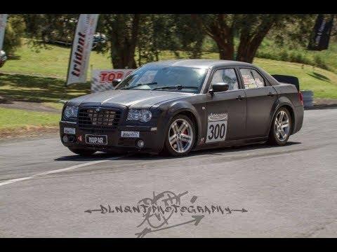 Chrysler 300c Hillclimb Race Car Legends Of The Lakes 2017 Youtube