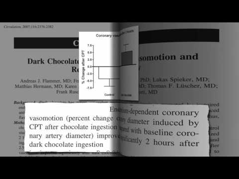 MUST WATCH THIS - DARK CHOCOLATE FOR HEALTHY HEART