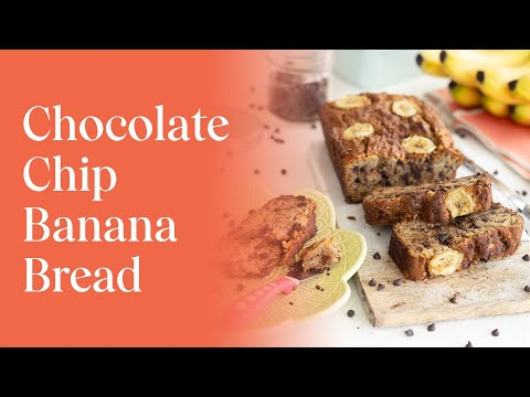 Best Ever Chocolate Chip Banana Bread (Gluten-free and Nut-free)