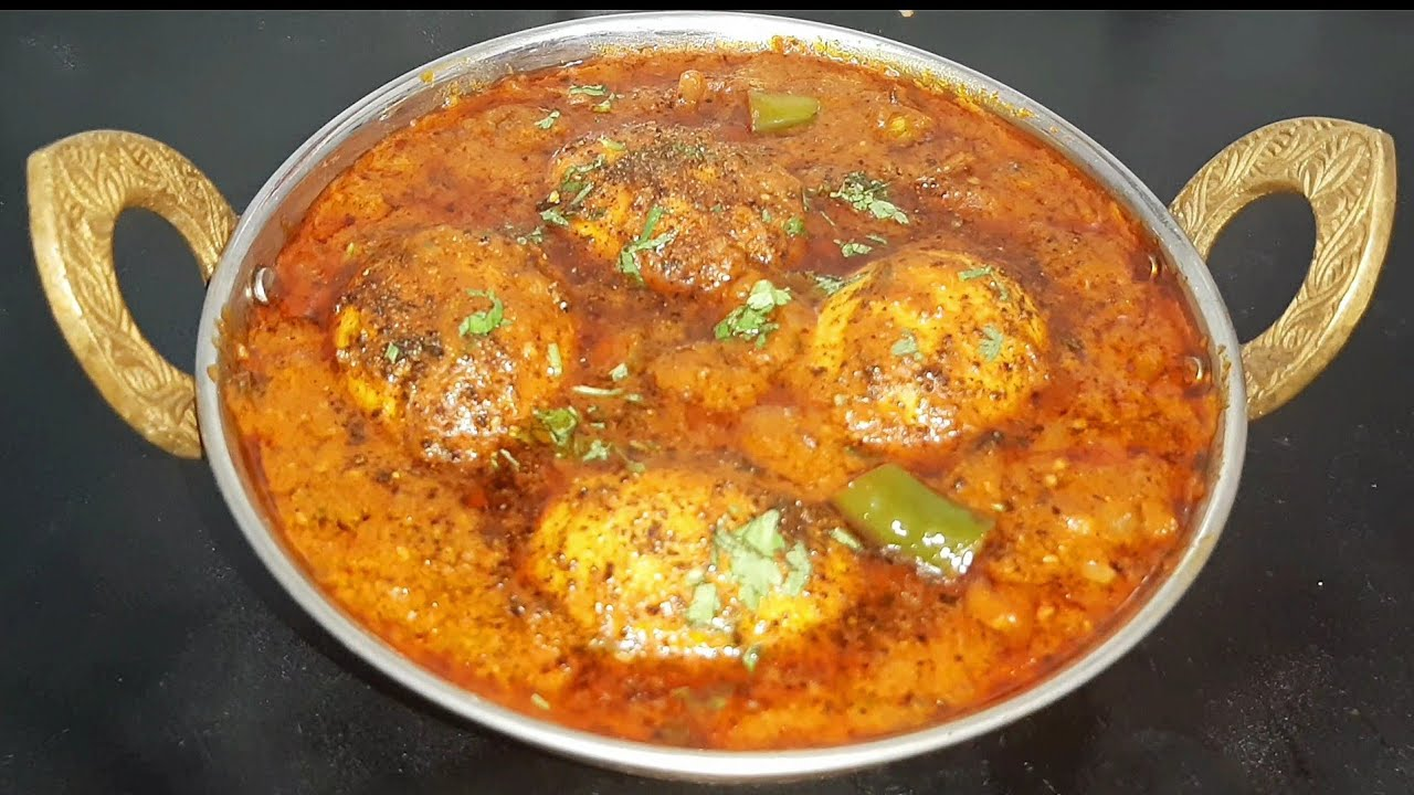Egg Masala Curry | Egg Masala Gravy | Restaurant Style Egg Gravy | Muttai Kuzhambu | Egg Recipe