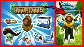 ATLANTIS EVENT - GET ALL OBJECTS IN ROBLOX