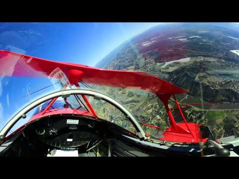 Pitts Special Full Flight with Acro - Nikon Keymission 360