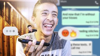 SONG LYRICS TEXT PRANK ON MY MOM!!! Shawn Mendes - Stitches (GONE WRONG!!!) Mp3