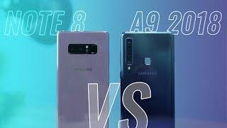 Galaxy A9 2018 ra mắt với mức giá cận cao cấp là 13 triệu đồng. Tro...
