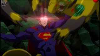 Superman, Batman & Lantern vs Parademons | Justice League: War