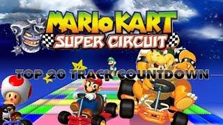 Mario Kart Super Circuit - Top 20 Tracks Countdown