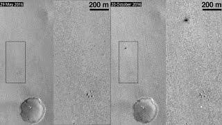 Schiaparelli crashed on Mars!