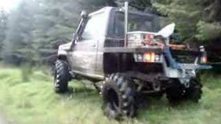 Ireland Green laning Off Road 4X4 Adventure