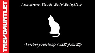 Deep Web Websites 3: Anonymous Cat Facts