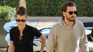 Scott Disick And Sofia Richie Hit Beverly Hills In His New Lamborghini