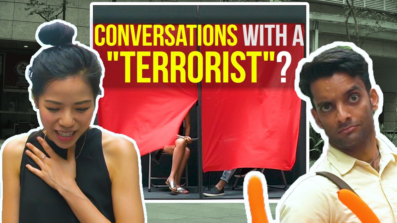 """CONVERSATIONS with a """"TERRORIST""""???"""