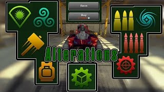Tanki Online - Alterations | Fully Explained | Video on every Alteration