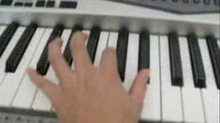 """Learn to play """"Ni Yao De Ai"""" piano tutorial 1/6"""