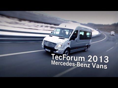 Mercedes-Benz Sprinter TecForum  | Neue Assistenzsysteme für Vans