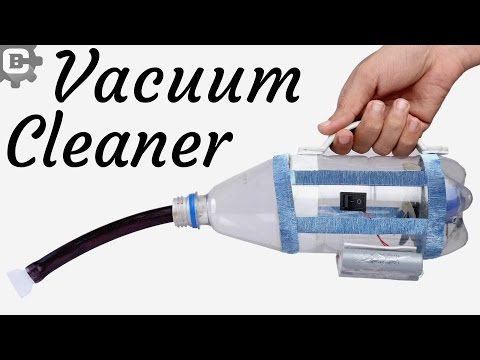 How to make a vacuum cleaner at home Using  Plastic bottle