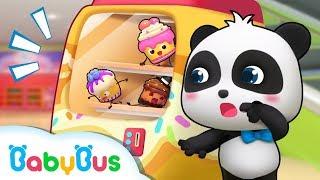 Si Imut panda Kiki & Miumiu   Mesin Penjual Kue Ajaib   Lagu Anak-anak   Bahasa Indonesia   BabyBus