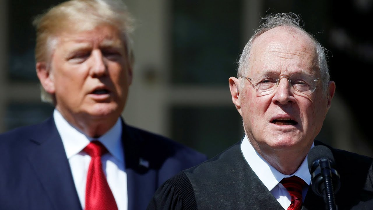 Trump to nominate another Supreme Court justice as Anthony Kennedy announces retirement