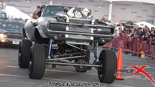 1968 RAT ROD SUPERCHARGED TWIN TURBO CHARGER!!