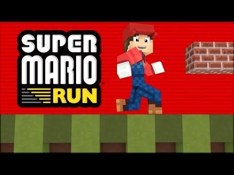 Minecraft: JOGUE SUPER MARIO RUN NO MINECRAFT! E CRIE SEU PRÓPRIO LEVEL!