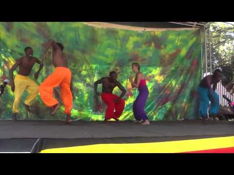 Kampala school of Ballet and contemporary dance perfoms on World Culture Day