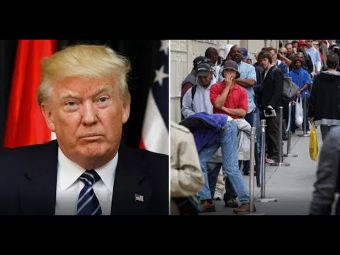 """WELFARE """"PISSED"""" AFTER PRESIDENT TRUMP REQUIRING""""WORK FOR WELFARE""""!"""