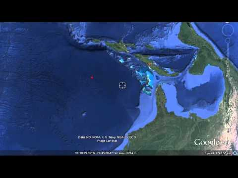 LOST CIVILIZATION UNDERWATER PYRAMIDS & ROAD COMPLEX FOUND IN BIMINI CUBA!!! NEW 2014