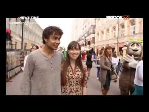 Александр Рыбак - News time на Bridge TV. Премьера клипа Котик