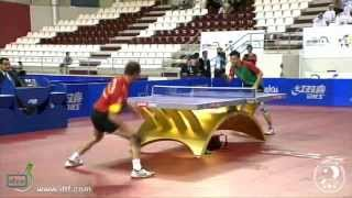 Final World Olympic Qualification 2012: Tiago Apolonia vs. Carlos Machado