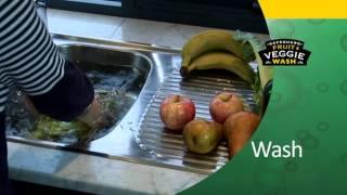 Fruit & Veggie Wash Video