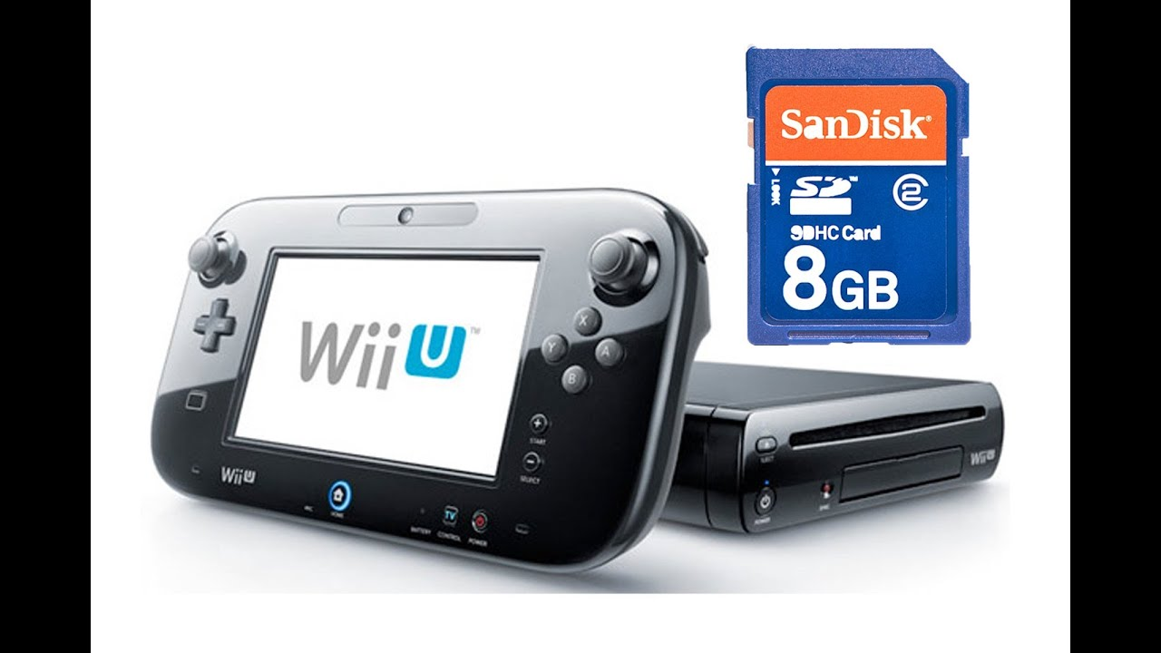 Can't Save Wii U Downloaded Software on SD Card, No System-Wide ...