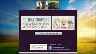 Webinar: Holiday Shopping: How to Beat Retailers at Their Own Game