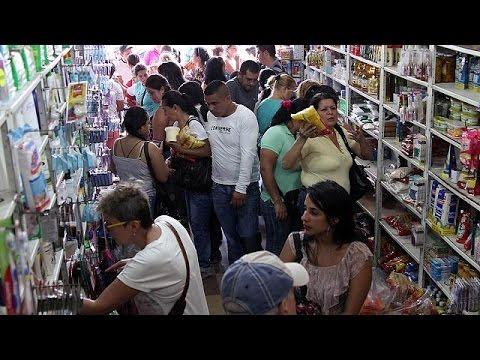 Venezuelans rush into Colombia seeking food and medicine