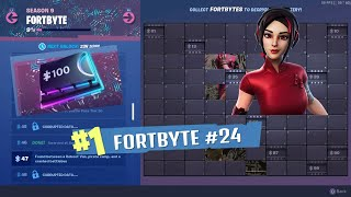 -Found in Latifundio Letal // -Comment obtenir Fortbyte '#24 Piece' // Fortnite 'Saison 9'
