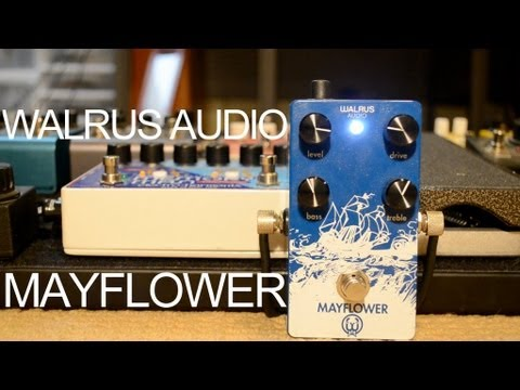 Walrus Audio Mayflower overdrive pedal demo