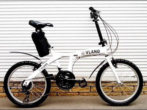 PRIDE 20 mini 1 2015 - складной легкий велосипед - YouTube