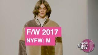 Patrik Ervell Fall / Winter 2017 Men's Runway Show   Global Fashion News