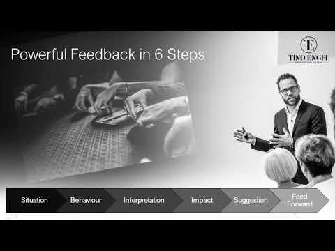 The Six Steps of Powerful Feedback