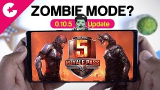 PUBG Mobile Season 5 Update (0.10.5) ZOMBIE MODE??