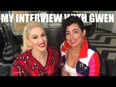 MY INTERVIEW WITH GWEN STEFANI