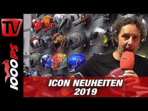 ICON Battlescar 2 Jacke und Helm - Motorrad Bekleidung - INTERMOT 2018