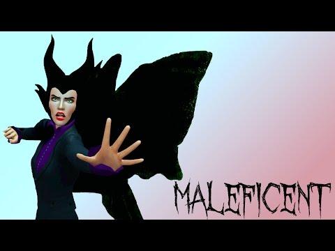 Disney Legacy Create A Sim - Maleficent and the 3 Good Fairies