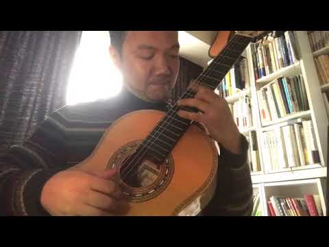 """「組曲ニ長調よりジーグ」(ポンセ)/演奏:鈴木大介 (Gigue - M.M.Ponce """"Suite en Re majeur"""" by Daisuke Suzuki)"""