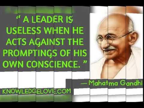 Inspirational Quotes of Mahatma Gandhi