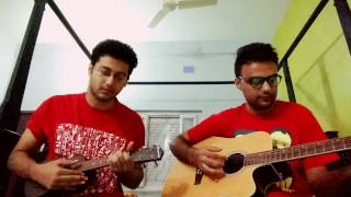 Download Hindi Video Songs - Holud pakhi & Bodhu re mashup   Acoustic cover by Argho and Avinash