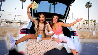 LAST TO LEAVE THE CAR GETS $1000! (PRANKING PIERSON😏) | MyLifeAsEva
