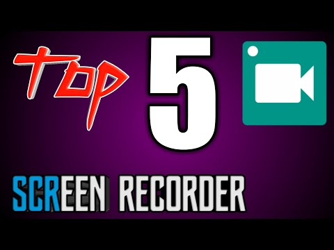 Top 5 best screen recorder app for Android|2018