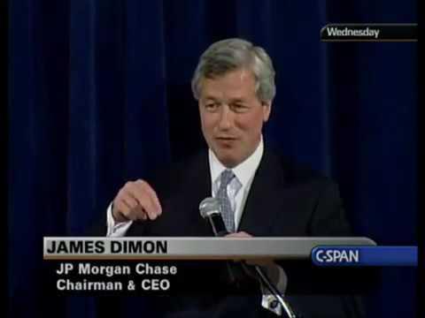 Was the Financial Crisis Avoidable? Jamie Dimon on the U.S. Economy (2008)