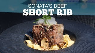 Sonatas Beef Short Rib Recipe | Green Mountain Pellet Grills
