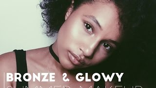 Bronzed & Glowy | My Go-to Summer Makeup Look