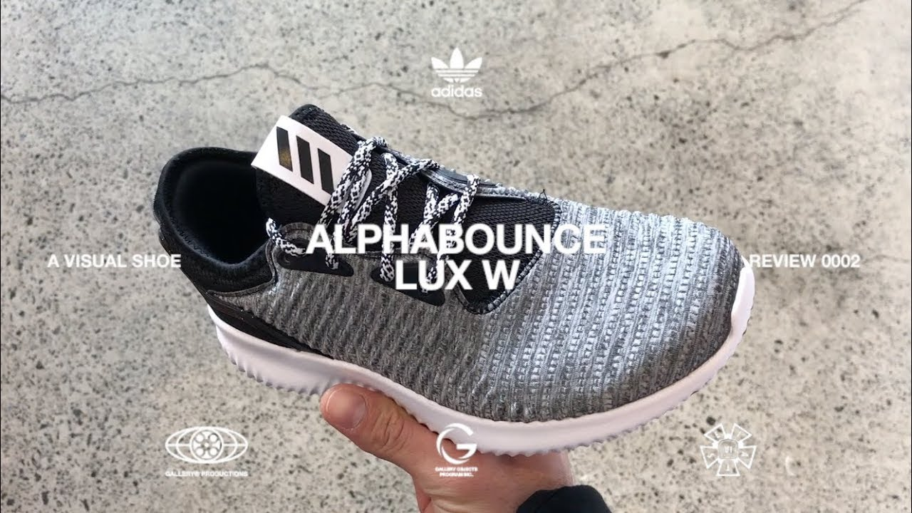 74650ff6f4884 IN HAND LOOK – ADIDAS ALPHABOUNCE LUX W - YouTube